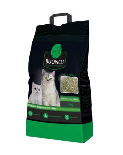 Natural organic cat litter