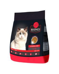 Sterilizuotoms katėms | Su tunu ir ryžiais